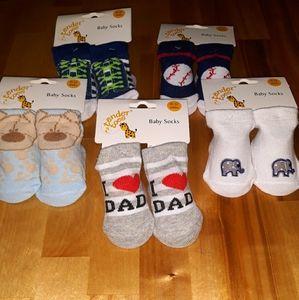 🧦5 Pairs Baby Boy Socks